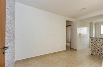 Apartamento novo medindo 45m² contendo 02 dormitórios, sala, banheiro social com box e gabinete, cozinha com gabinete e armário embutido, 01 vaga.