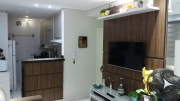 Excelente apartamento com fino acabamento, com 46 m² sendo: 2 dormitórios com armários planejados, sala com sanca de gesso, banheiro social com gabinete e box. Possui cozinha planejada com cooktop e forno elétrico embutido, lavanderia e 1 vaga de garagem.  Aceita financiamento e FGTS.