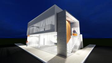 Salão comercial localizado em uma das principais ruas da cidade com 90m² de vão livre, e mezanino com 70 metros, área de luz, copa, 3 banheiros. Fase final de construção.