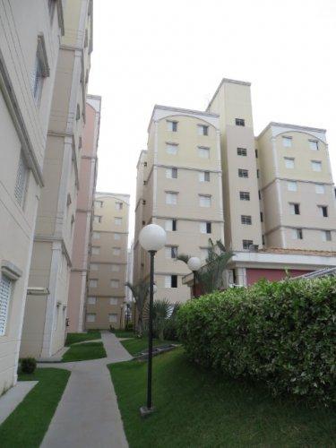 Apartamento sol da manhã com 54,21 m², com sala, 2 dormitórios , banheiro social, cozinha, área de serviço e 1 vaga. Área de lazer com salão de festas, playground e piscina. Aceita financiamento e FGTS.